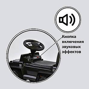 Каталка-толокар джип Черная - Толокар для ребенка джип, фото 2