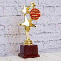 Награда кубок Найкращій вчитель (надпись можно изменить)