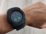 Умные смарт часы Smart Watch V8, часы с функцией звонков Черные, фото 5