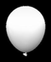 """Латексный шар без рисунка Kalisan Белый пастель 12"""" 30 см"""