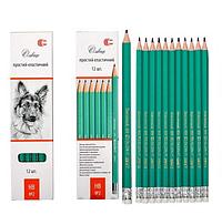 Олівець простий з резинкою - PENCIL  - карандаш с резинкой