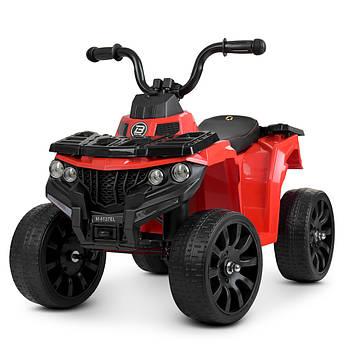 Детский квадроцикл на аккумуляторе M 4137EL-3 красный