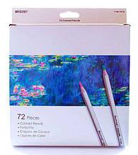 Карандаши цветные 72цв. Marco Raffine 7100-72СВ