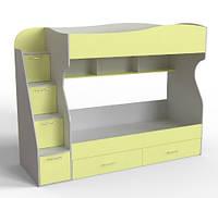 Двухъярусная кровать с ящикамиДМ-147 Binky