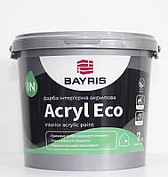 Краска ACRYL ECO БАЙРИС интерьерная 7кг