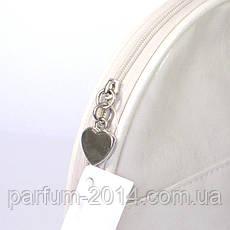 Женская белая косметичка из искусственной кожи, органайзер для косметики maXmar, фото 3