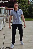 Мужской спортивный костюм летний Футболка и брюки Размер 48 50 52 54 Разные цвета