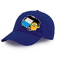 Кепка детская Финн и Джейк пес Время Приключений (Adventure Time) 100% Хлопок (9273-1581), фото 1