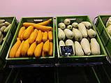 Овощной стеллаж с сетчатыми полками на колесах H176/L80/D100 cm. Тип-07, фото 8