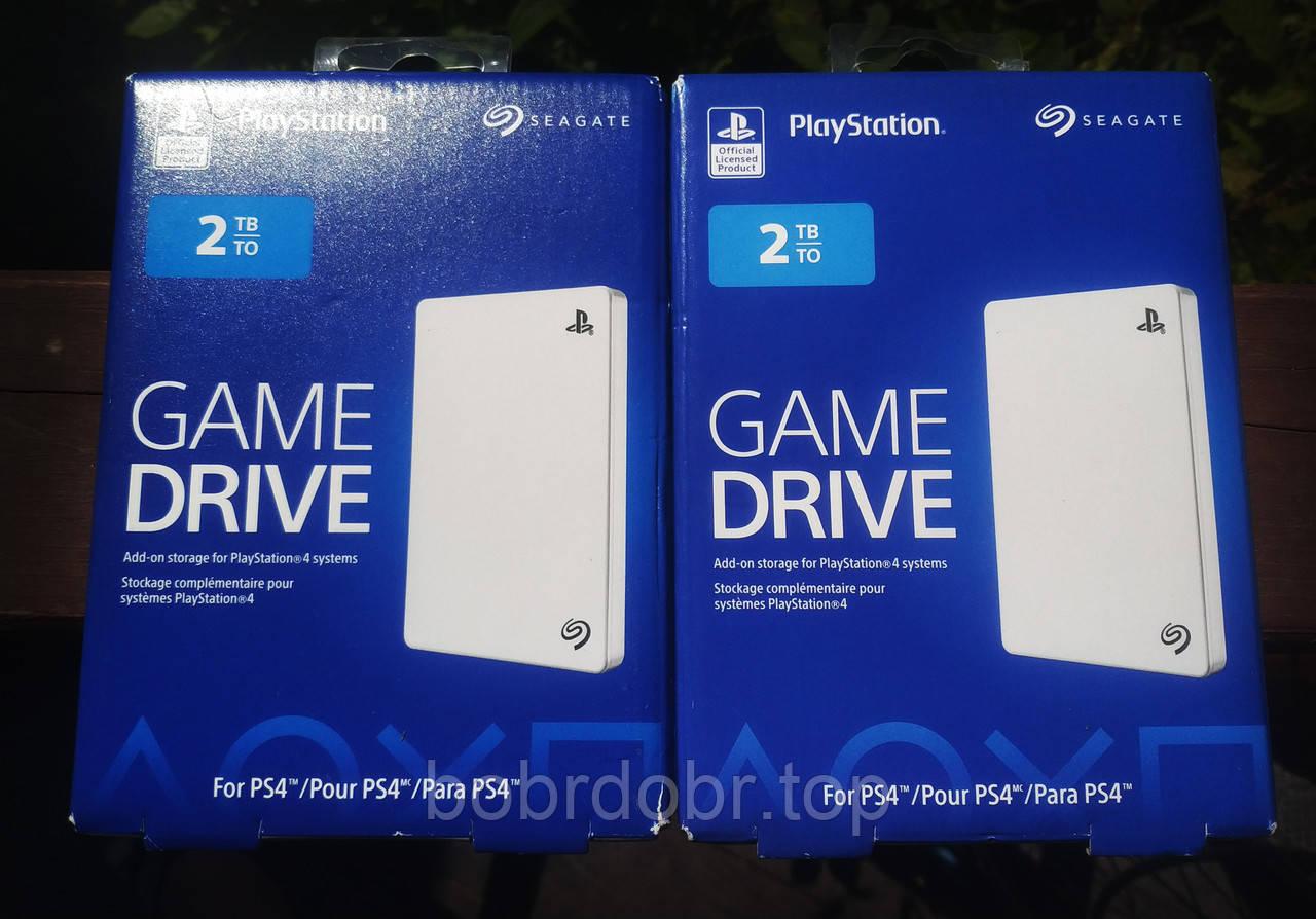 Внешний жесткий диск Seagate 2TB Game Drive for PS4 (ОРИГИНАЛ)