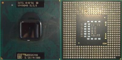 Б/У Процессор для ноутбука Intel 900 /Ядер 1/Частота 2,2Ггц /Intel Celeron/Socket P(mPGA478MN)