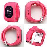 Детские умные часы smart baby watch q50 с gps трекером и сменным ремешком, фото 2