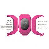 Детские умные часы smart baby watch q50 с gps трекером и сменным ремешком, фото 4