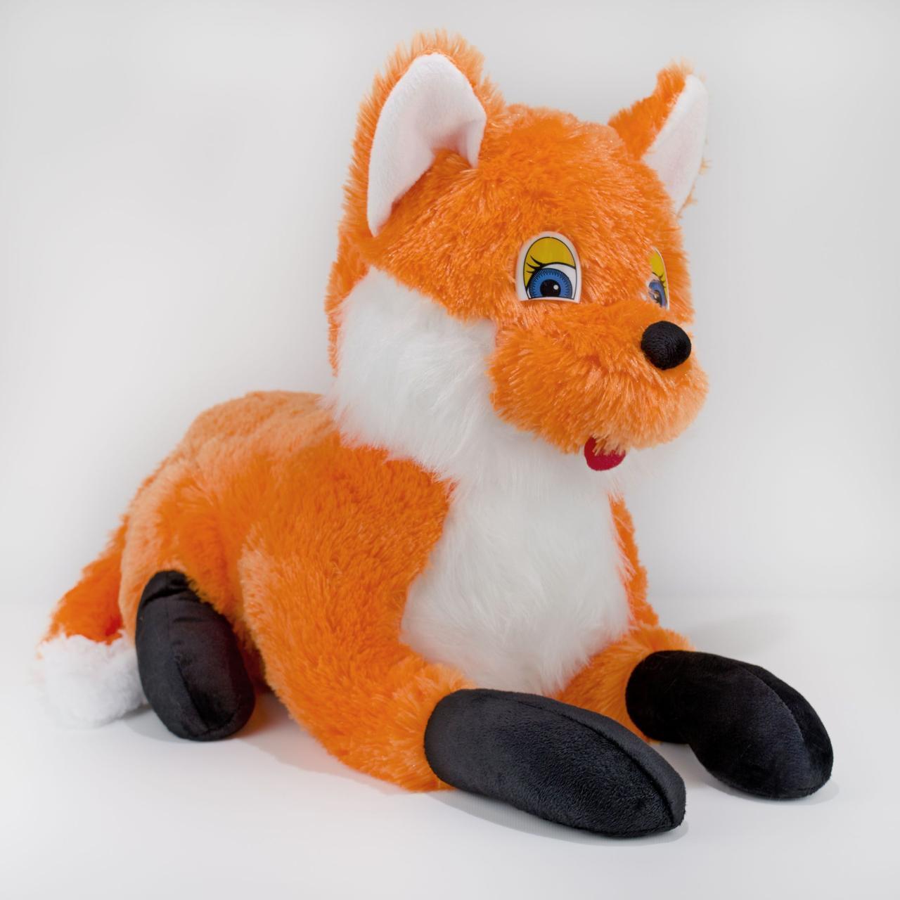 Мягкая игрушка Zolushka Лиса 60 см Рыжая