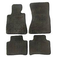 Автомобильные коврики в салон Toyota Carina Текстильные коврики из ворса серый