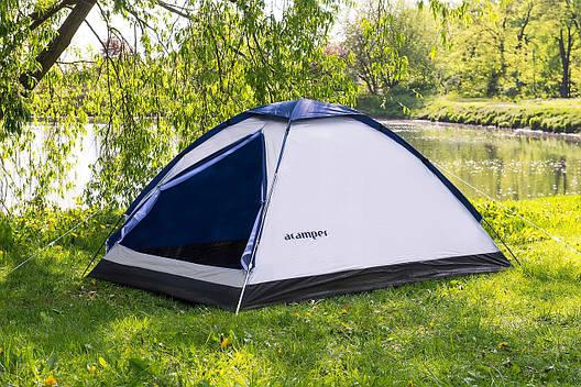 Туристическая Палатка 2-х местная Acamper Domepack 2 Польща!, фото 2