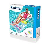 Надувний пляжний шезлонг-крісло, Bestway 43011 (165х89 см.), фото 3