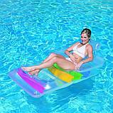 Надувний пляжний шезлонг-крісло, Bestway 43011 (165х89 см.), фото 4
