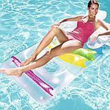 Надувний пляжний шезлонг-крісло, Bestway 43011 (165х89 см.), фото 5