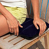 Надувной одноместный матрас, Intex 64756-2 (76х191х25 см.) + подушка и ручной насос., фото 8