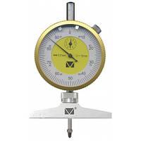 Глубиномер индикаторний ГИ-30 (0-30 мм/0,01 мм/±0,017) Микротех