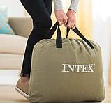 Надувной одноместный матрас Intex 64141 Pillow Rest Classic (99x191x25 см.), фото 6