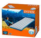 Надувной одноместный матрас Intex 67998 Camping Mats (72x189x20 см.), фото 3