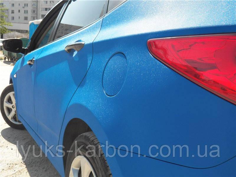 Пленка Алмазная крошка синяя  Сatpiano 152 см