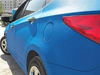 Пленка Алмазная крошка синяя  Сatpiano 152 см, фото 1