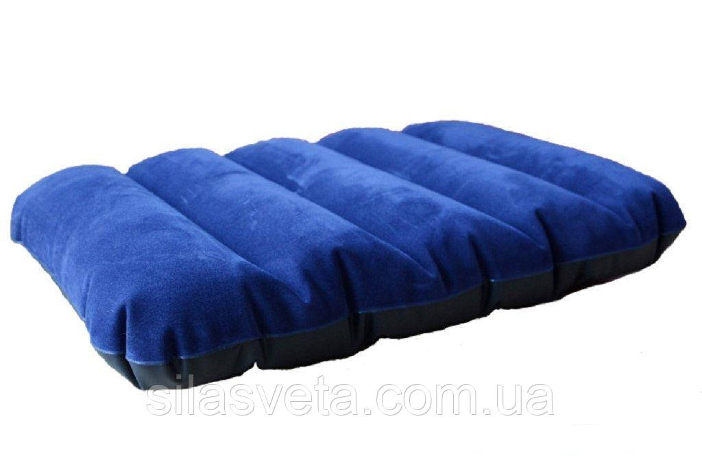 Подушка надувная Intex 68672 Downy Pillow серия Accessories Pillows (43х28х9 см.)