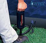 Ручной насос с тремя насадками, Intex 68612 Double Quick I Hand Pump, объем 0,9 л., высота 29 см., фото 6
