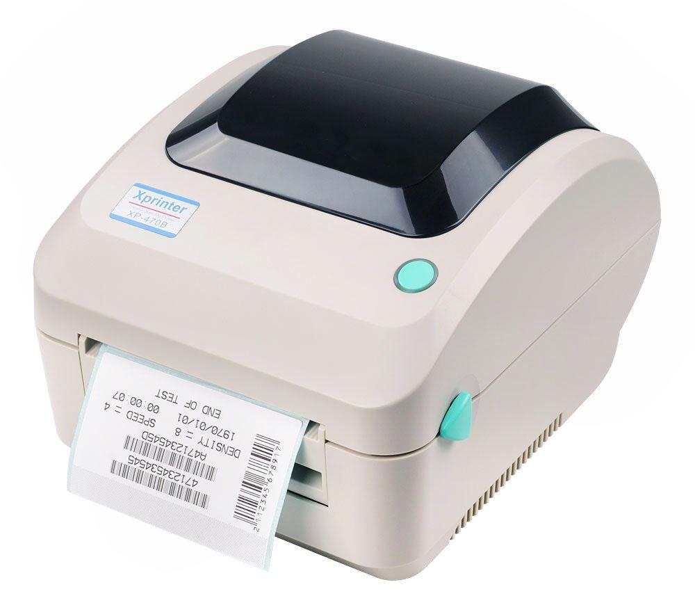 Термопринтер для печати этикеток Xprinter XP-470B (Новая почта )