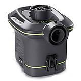 Электрический насос на батарейках с тремя насадками Intex 66638 Quick-Fill  (420 л/мин. 25 Вт.), фото 2