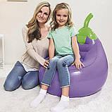 "Детское надувное кресло Bestway 75066 Fruit Kiddie ""Баклажан"" (72х72х89 см.), фото 6"