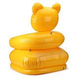 """Надувное детское кресло Intex 68556 Happy Animal """"Медвежонок"""" (64х65х74 см.), фото 5"""