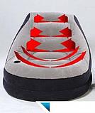 Надувное кресло с подстаканником и пуфом, Intex 68564 Ultra Lounge (130х99х76 см.), фото 8