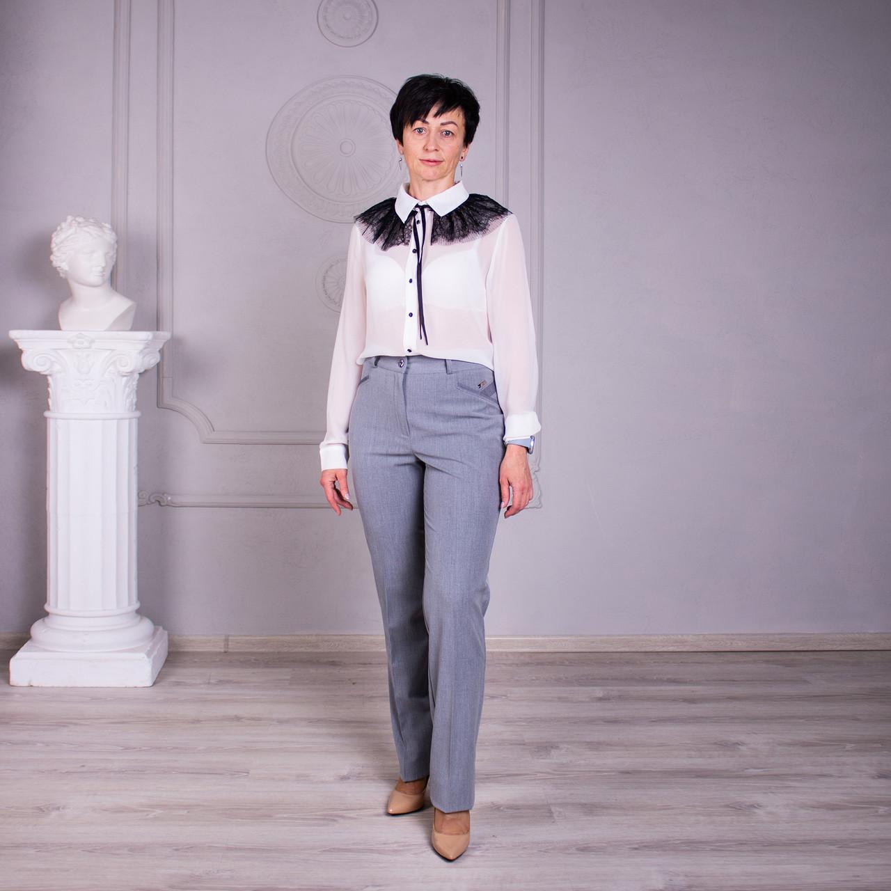 Женские брюки Дороти цвет беж, серый размер 46- 60