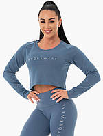 Спортивная кофта Staples Cropped Sweater – Blue