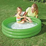 Надувной детский бассейн с ненадувным дном Bestway 51024 (102х25см.) объём 101 л., фото 4