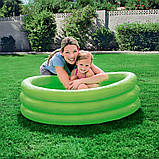 Надувной детский бассейн с ненадувным дном, Bestway 51025 (122х25 см.) объём 140 л., фото 2