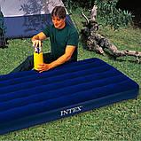 Надувной одноместный матрас Intex 68757  Classic Downy Bed (76х191x22 см.), фото 5