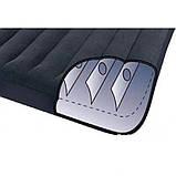 Надувной одноместный матрас с подголовником, Intex 66770 Pillow Rest Classic (183х203х23 см.), фото 6