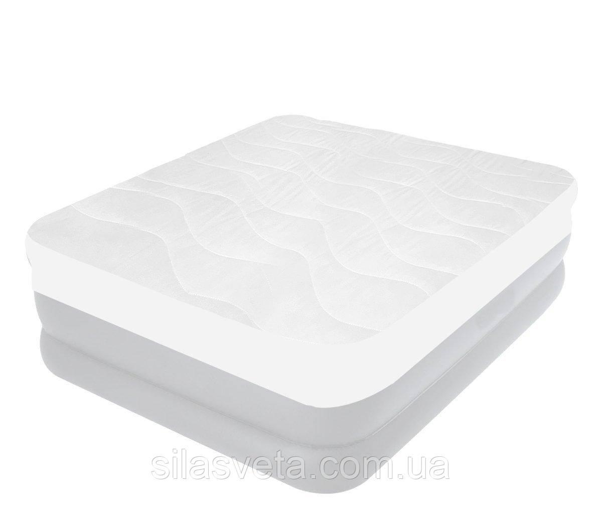 Чехол-наматрасник для односпальной кровати Intex 69641 (90х200х30 см.)