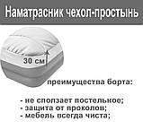 Чехол-наматрасник для односпальной кровати Intex 69641 (90х200х30 см.), фото 7
