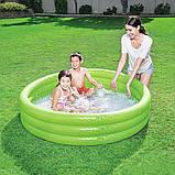Надувной детский бассейн с ненадувным дном, Bestway 51026 (152х30 см.) объем 282 л., фото 3