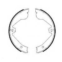 Гальмівні колодки барабанні (ручник) MERCEDES GL ML AUDI Q7 PORSHE Cayen VW Toureg LAND ROVER  с 2002-  0986487705
