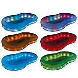 Надувной детский бассейн с LED-подсветкой, Bestway 54135 (280x157x46 см.), фото 5