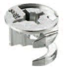 Стяжка эксцентрик  Cam5000 : цинк , для 18/19 ДСП, 15х13.2 мм, без винта, TITUS
