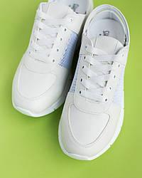 Медицинские кроссовки с открытой пяткой white