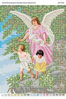 Схема для вышивания бисером ''Ангел Хранитель'' А3 29x42см